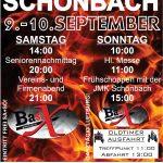 Einladung zum Feuerwehrfest